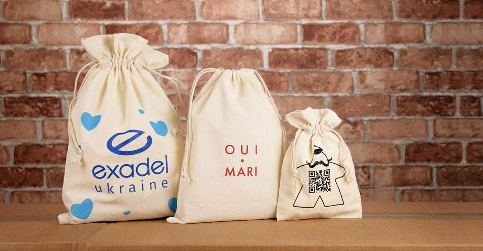 Производство и продажа тканевых мешочков с логотипом
